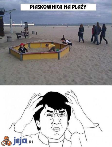 Więcej piasku w piasku