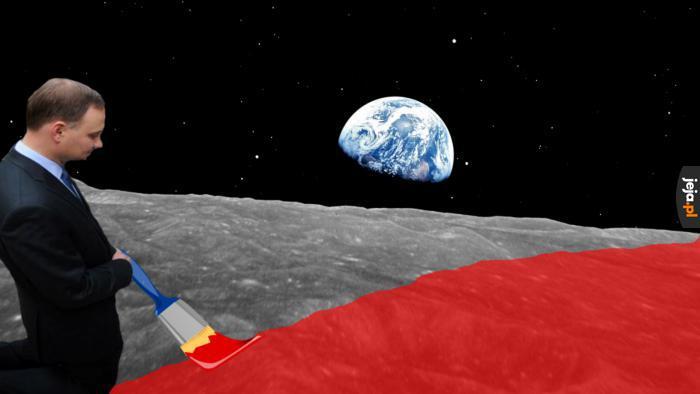 Spisek księżycowy nowej generacji
