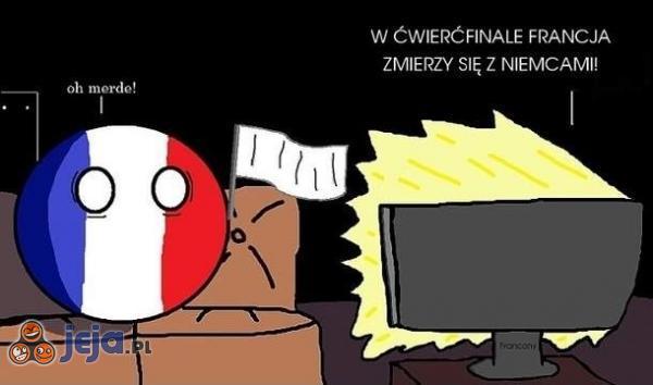 Powodzenia Francjo!