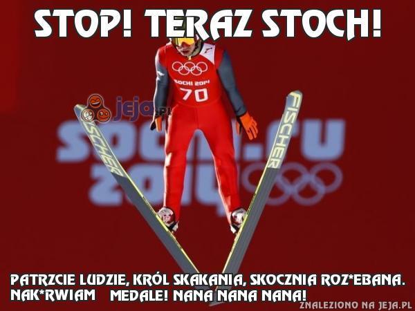 Stop! Teraz Stoch!