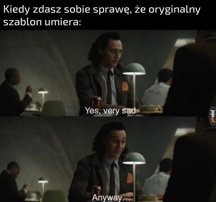 Loki to świetny serial i kolejna kopalnia szablonów