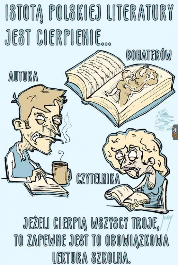 Istota polskiej literatury
