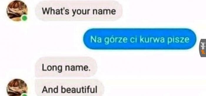 Piękne imię