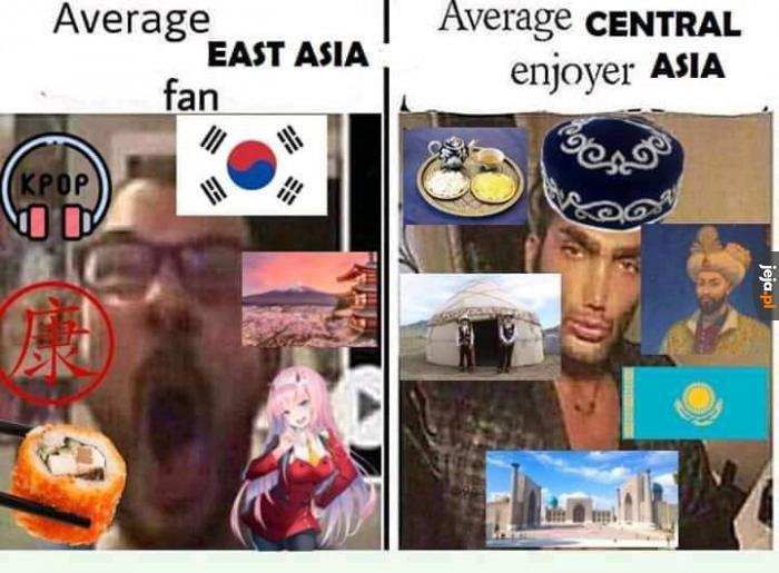 A Ty którą Azję wolisz?