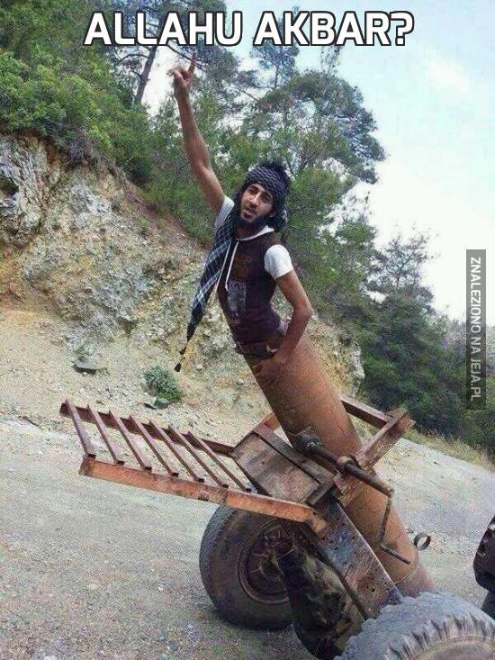 Allahu Akbar?
