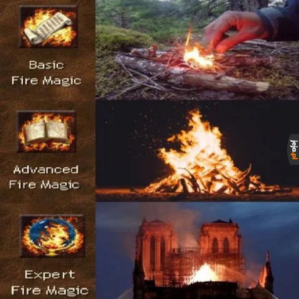 Wyższa szkoła magii ognia