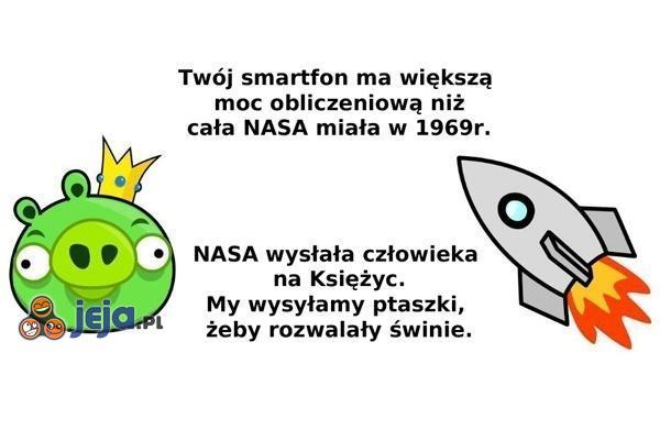 NASA chyba lepiej potrafi wykorzystać technologię...