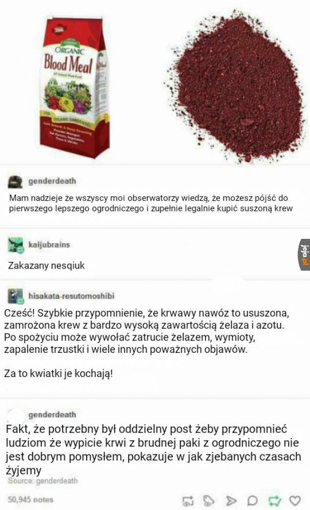 Krwisty nawóz