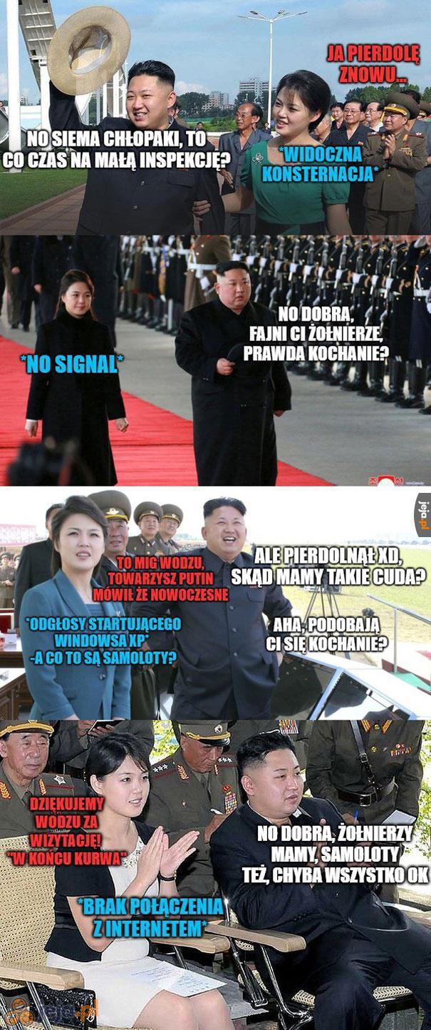 Rutynowa kontrola Kima