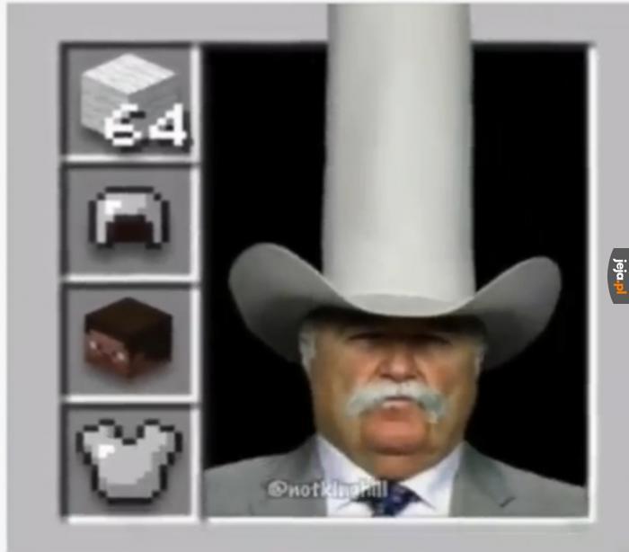 Im wyższy kapelusz, tym bardziej z Teksasu jesteś