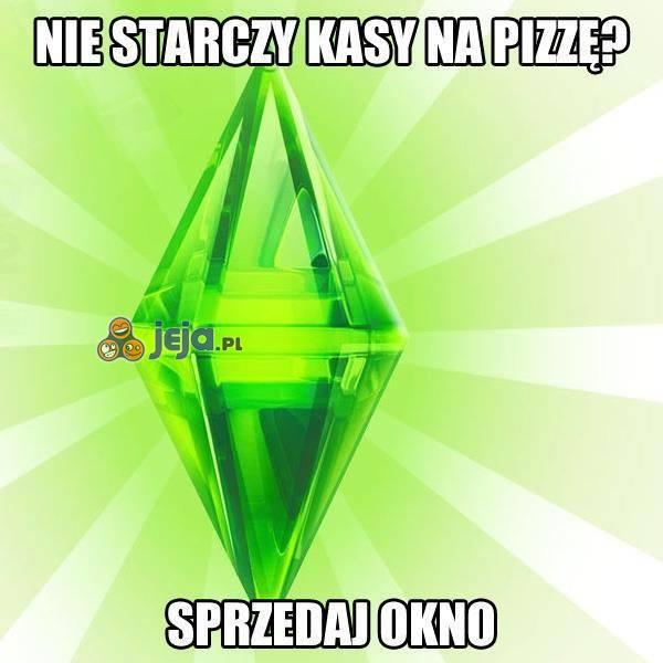 Po co komu okno, skoro jest pizza?
