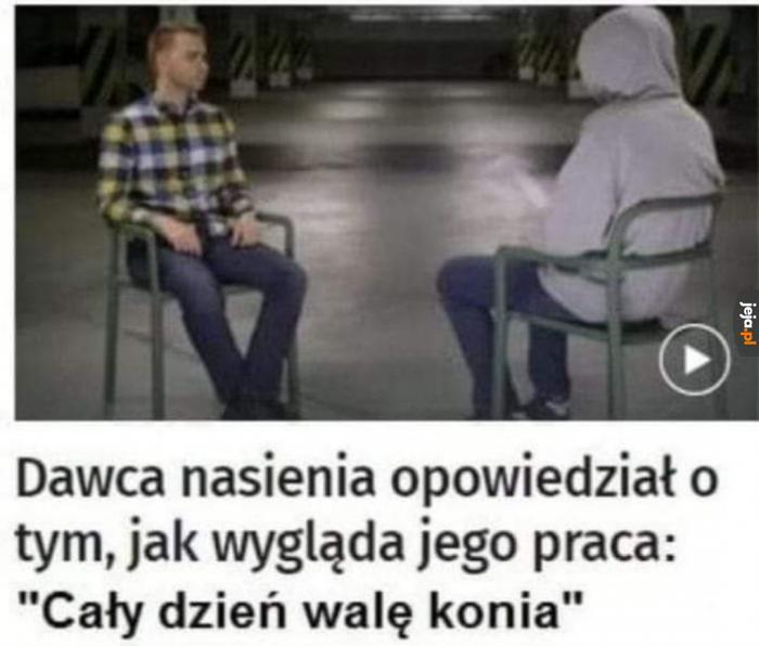 Najkrótszy wywiad ever