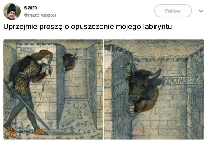 Nieśmiały Minotaur