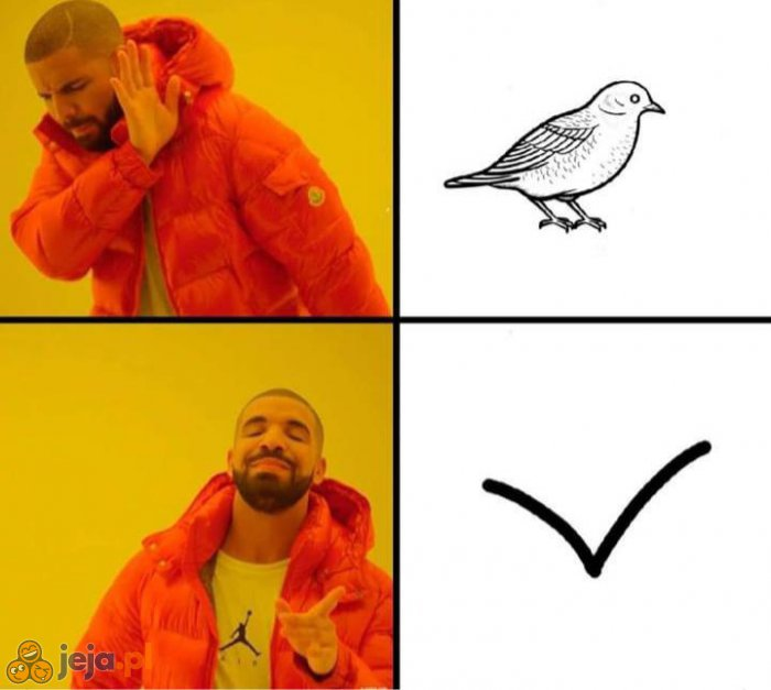 A Ty jak rysujesz ptaszka?