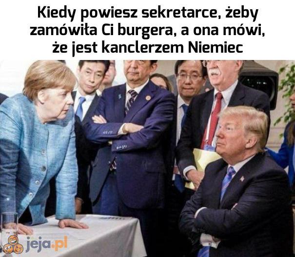 Biedny Trump