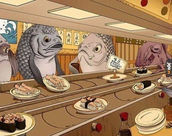 Sushi w alternatywnym świecie