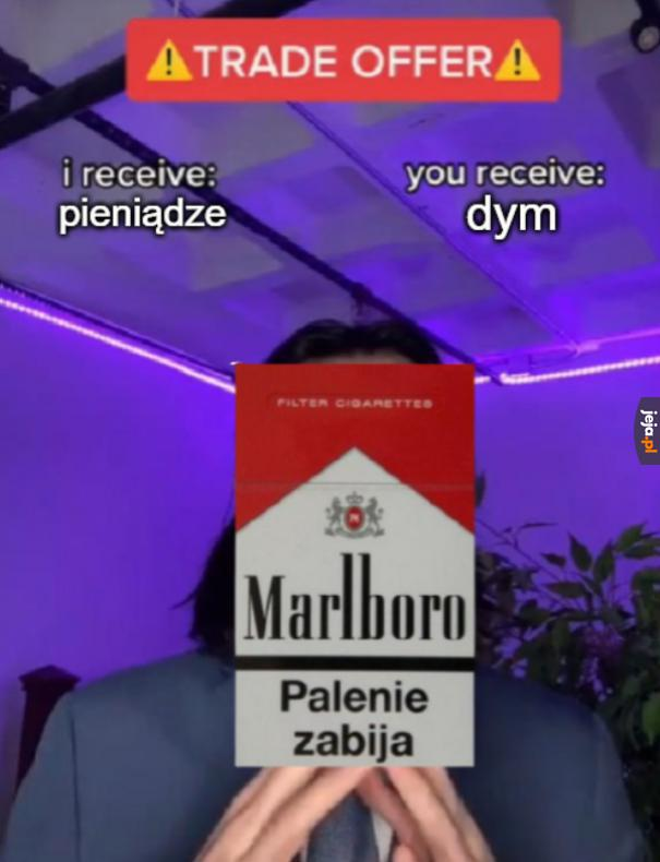 Przy okazji rak płuc