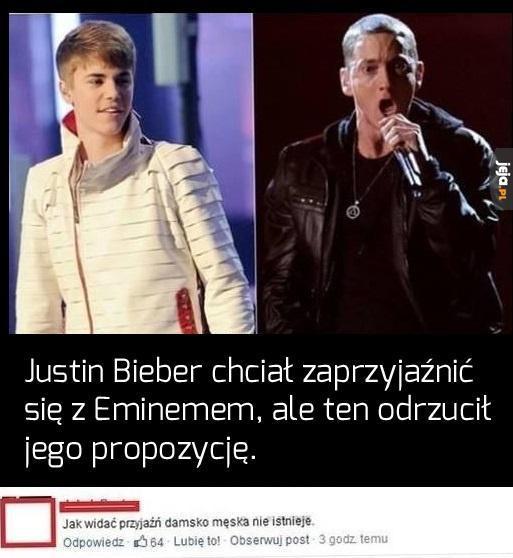 Bieber i Eminem