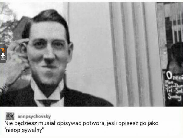 Dobry ziomek Lovecraft