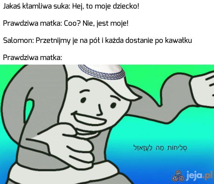 Przypowieść o królu Salomonie