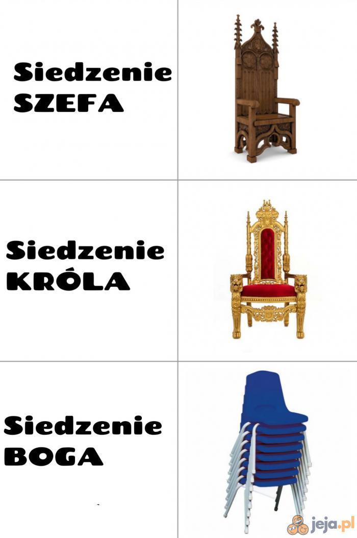Siedzenie bogów