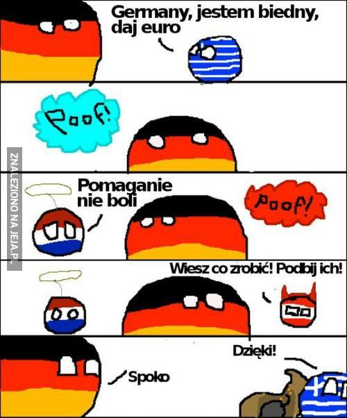 Pomoc od Niemców
