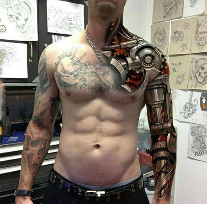 Genialny Tatuaż Jejapl