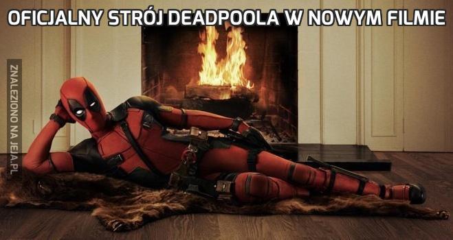 Oficjalny strój Deadpoola w nowym filmie