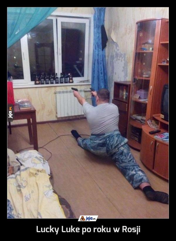 Lucky Luke po roku w Rosji