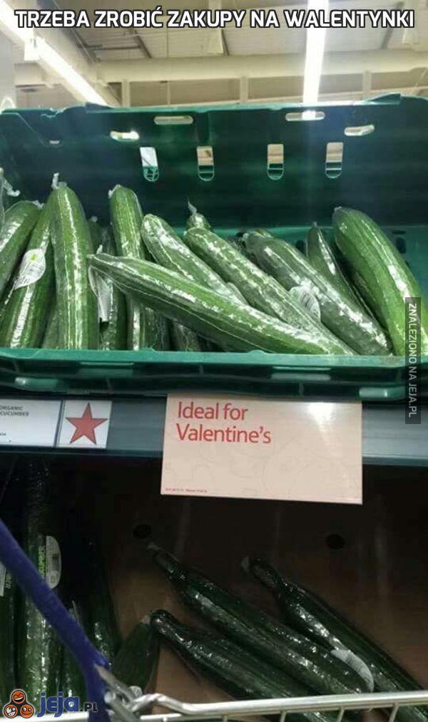 Trzeba zrobić zakupy na Walentynki