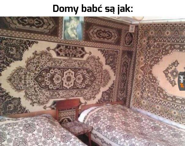 Dywany na ścianie wciąż modne...