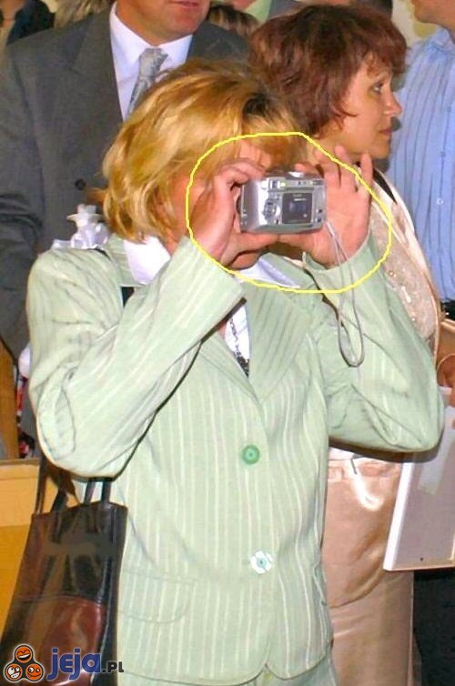 Blond-fotograf