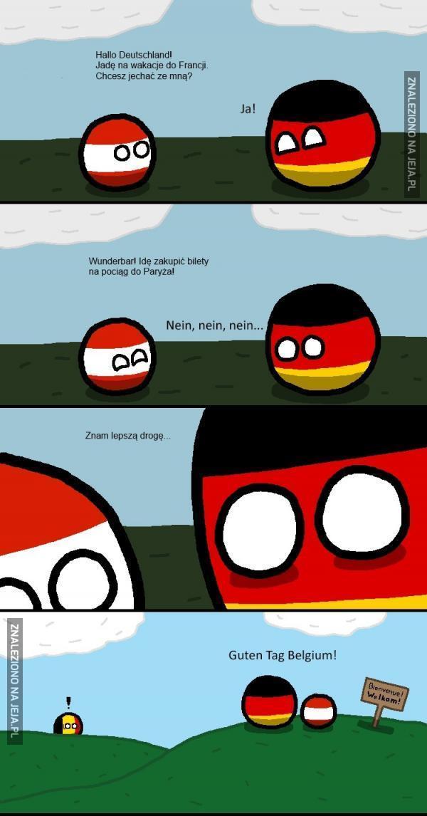 Z Niemcami do Francji