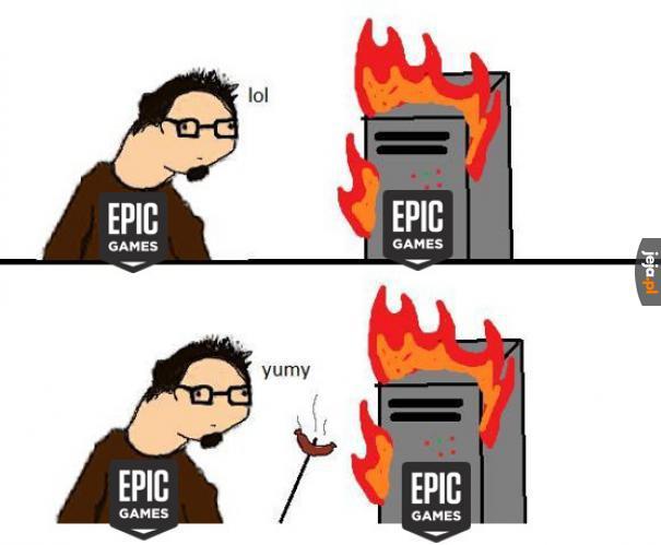 Serwery w płomieniach