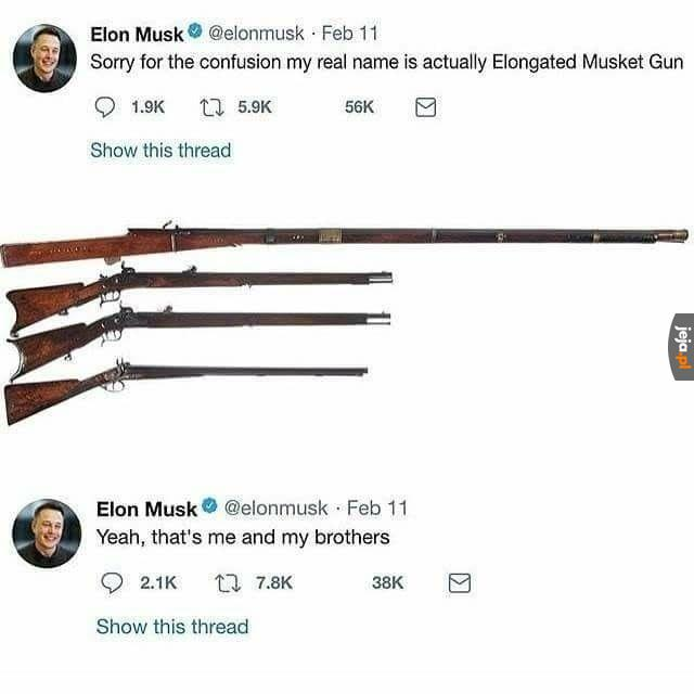 Elon Muszkiet