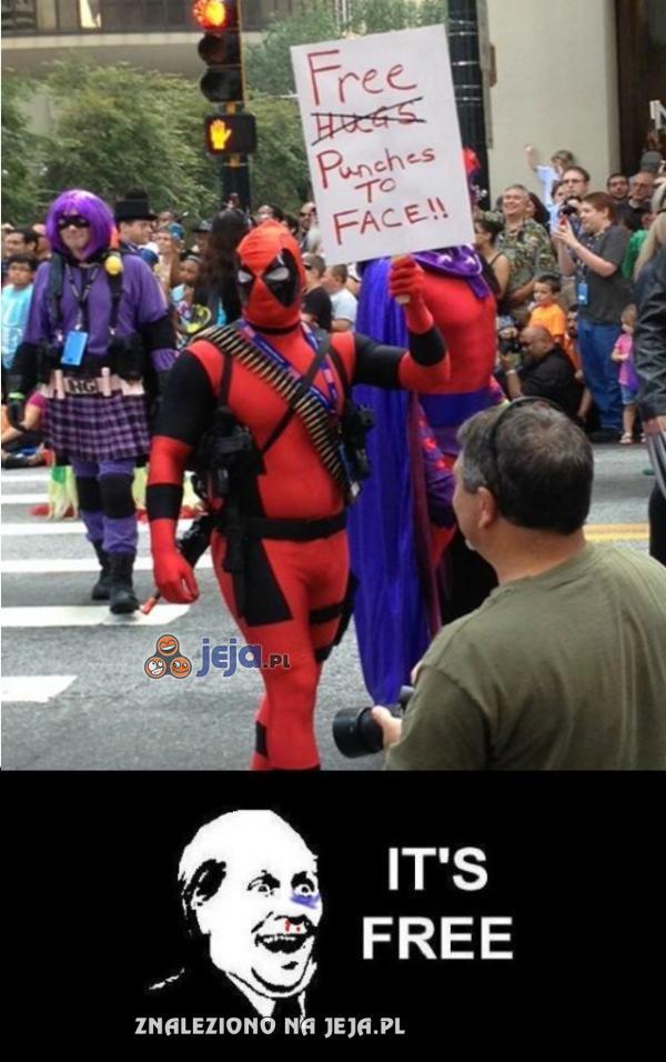 Deadpool rozdaje za darmo
