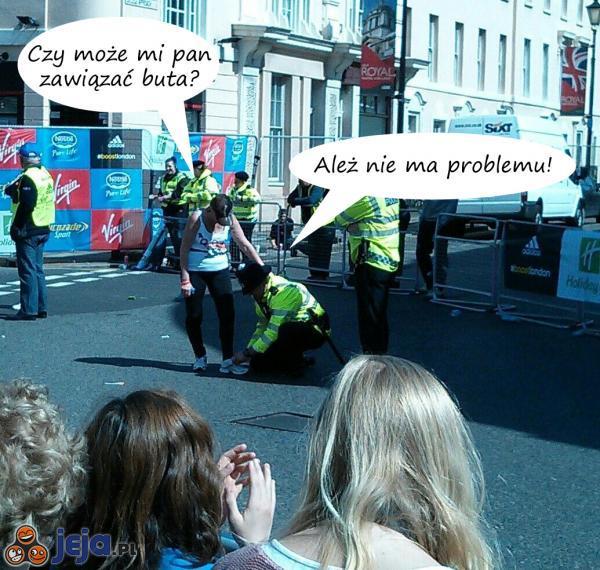 Pomocny pan policjant