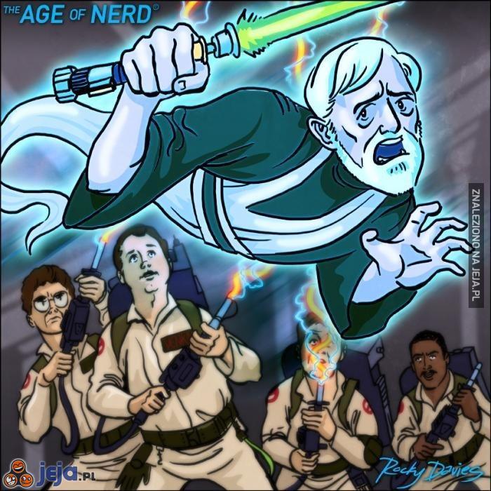 To dlatego duch Kenobiego się nie pojawił w siódemce...