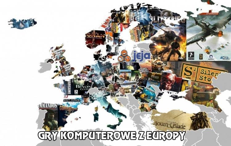 Gry komputerowe z Europy - ile jesteś w stanie wymienić?