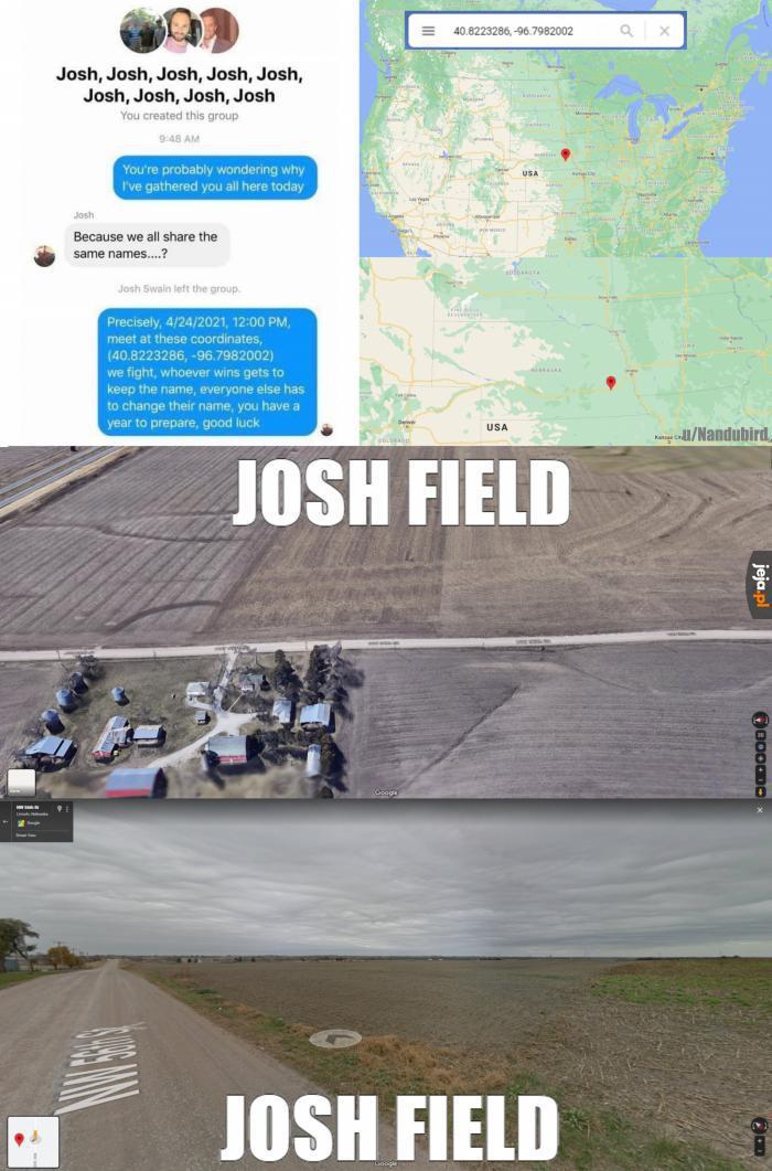 To tu ma się odbyć legendarne spotkanie Joshów