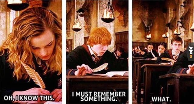 Są trzy rodzaje ludzi na egzaminach