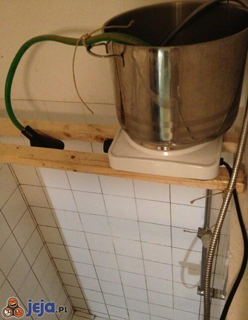 Przepływowy ogrzewacz wody