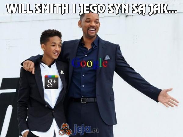 Will Smith i jego syn są jak...