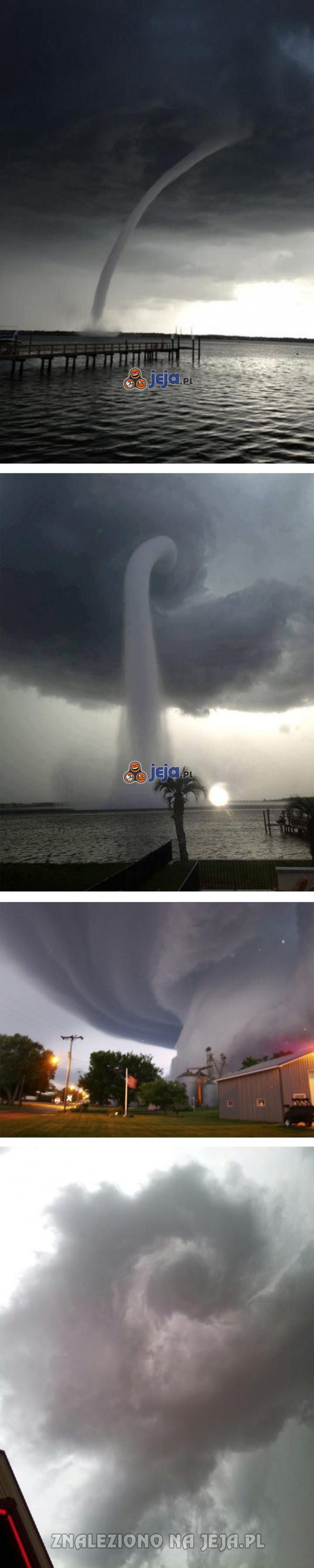 Tornada, wszędzie tornada...