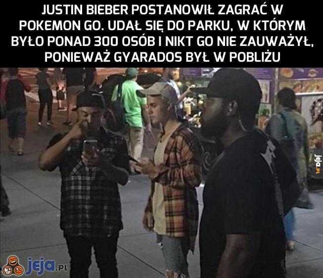 Bieber i pokemony