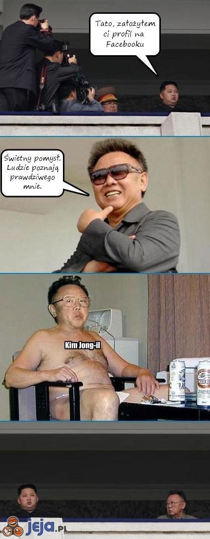 Kim Jong-il i jego nowoczesny syn