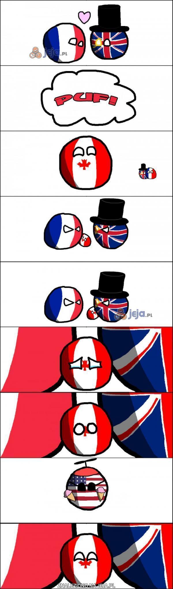 Kanada miała ciężkie dzieciństwo