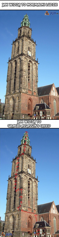 Jak widzą to gracze Assassin's Creed