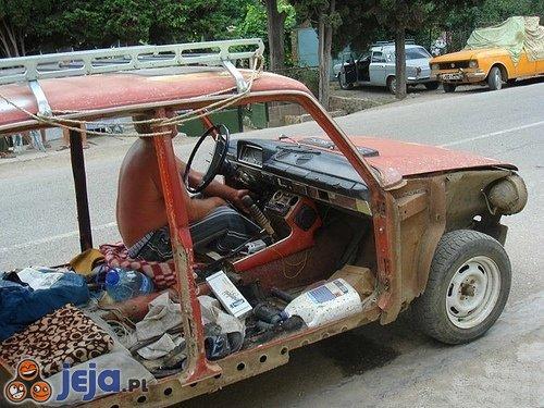 Przewiewne auto