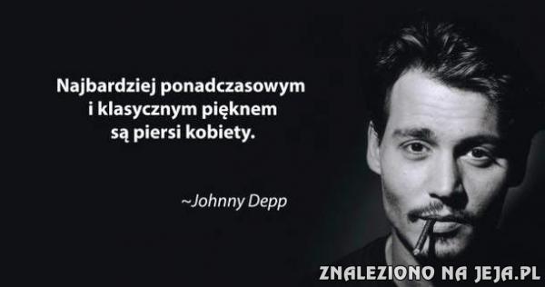 Piękno według Johnny'ego Deppa